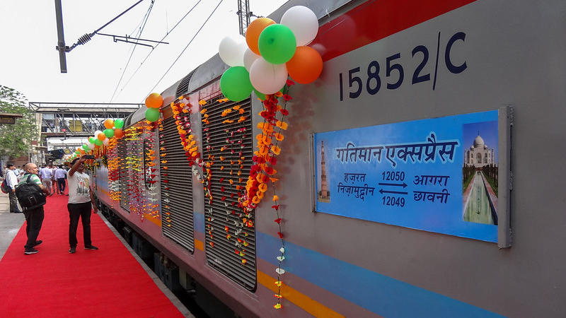 Taj Mahal and Agra Tour by Gatimaan Express Train from Delhi
