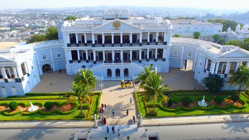 Heritage Walk with Hi Tea at Taj Falaknuma Palace