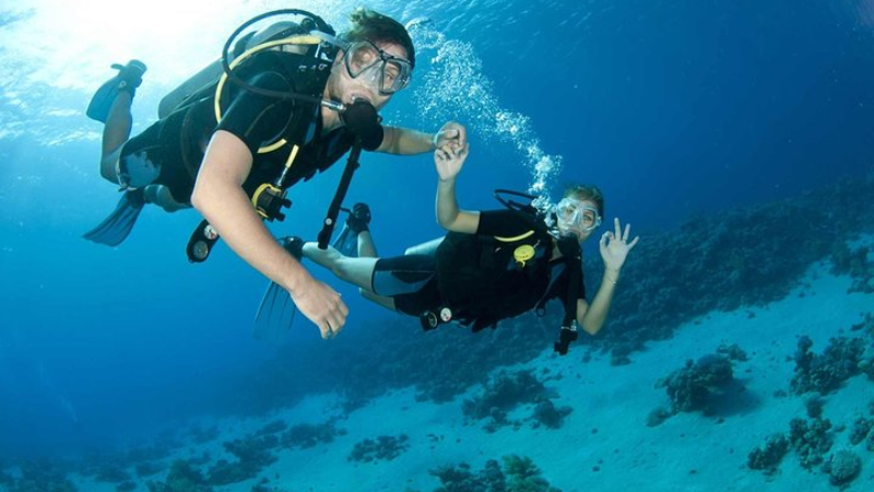 Scuba Diving at Grande Island Goa